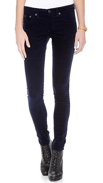 Rag & Bone/JEAN The Velvet Legging Pants