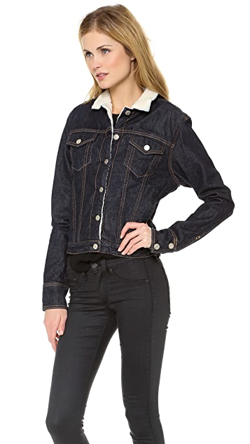 Rag & Bone/JEAN The Fleece Jean Jacket