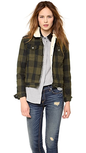 Rag & Bone/JEAN The Fleece Plaid Jacket