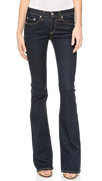 Rag & Bone/JEAN High Rise Clean Bell Jeans