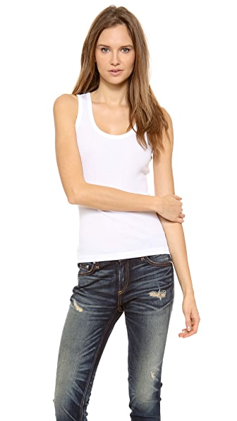 Rag & Bone/JEAN The Basic Ribbed Tank