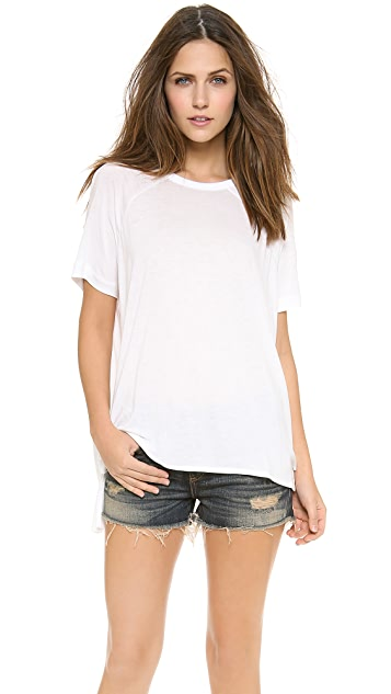 Rag & Bone/JEAN The Camden Raglan Tee