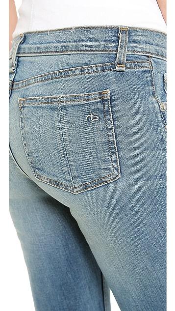Rag & Bone/JEAN The Zipper Capri Jeans