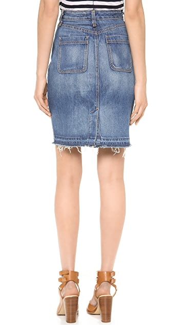 Rag & Bone/JEAN The Denim Skirt