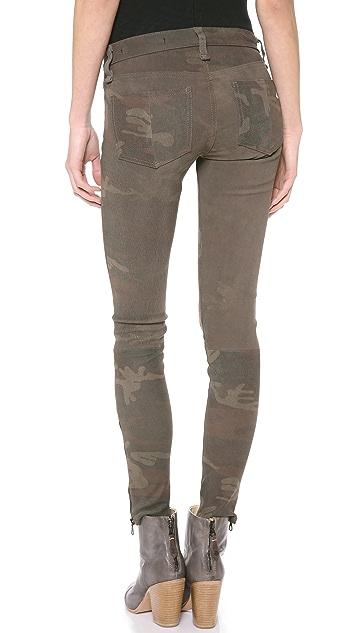 Rag & Bone/JEAN RBW 23 Leather Camo Pants