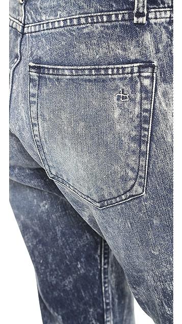 Rag & Bone/JEAN The Marilyn High Rise Rigid Crop Jeans