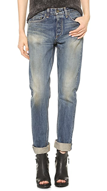 Rag & Bone/JEAN The Marilyn High Rise Rigid Jeans