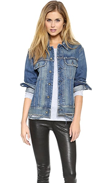 Rag & Bone/JEAN Boyfriend Jean Jacket | 15% off first app purchase ...