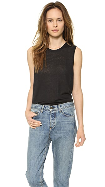 Rag & Bone/JEAN The Mack Linen Tank