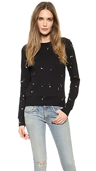 Rag & Bone/JEAN Splatter Paint Sweatshirt
