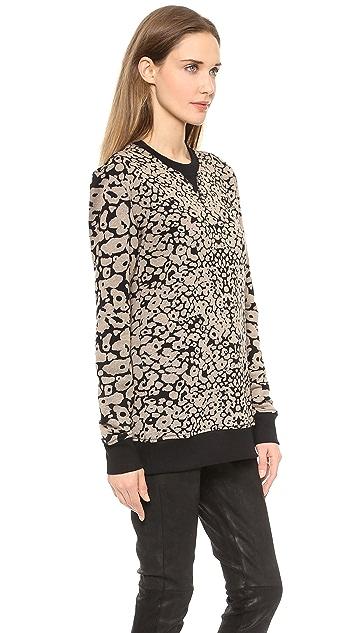 Rag & Bone/JEAN Amoeba Print Sweatshirt