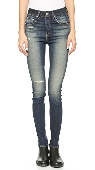 Rag & Bone/JEAN The Justine High Rise Skinny Jeans