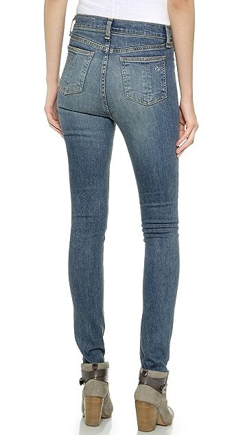 Rag & Bone/JEAN Justine High Rise Skinny Jeans