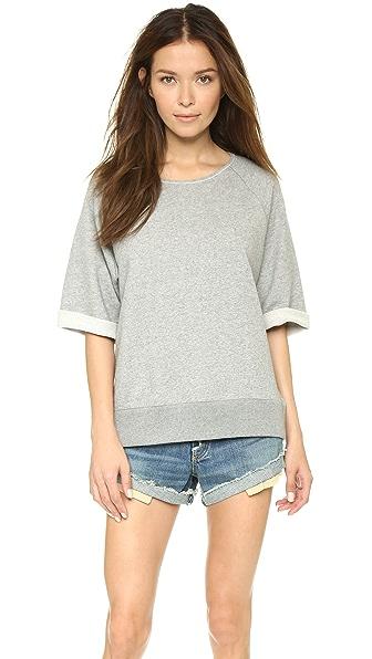 Rag & Bone/JEAN Joanna Short Sleeve Sweatshirt