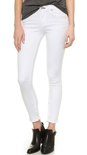 Rag & Bone/JEAN Zipper Capri Jeans