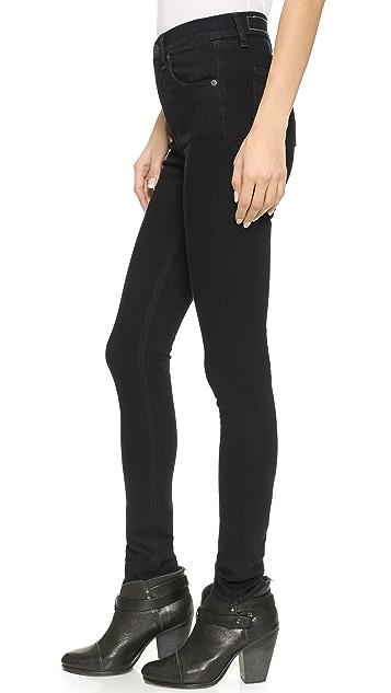 Rag & Bone/JEAN The Justine High Rise Legging Jeans