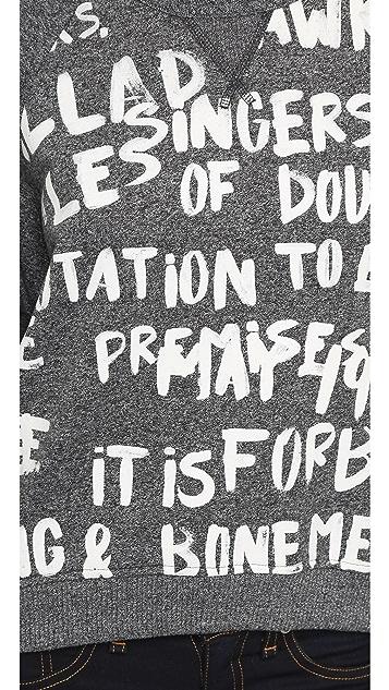 Rag & Bone/JEAN Graffiti Sweatshirt