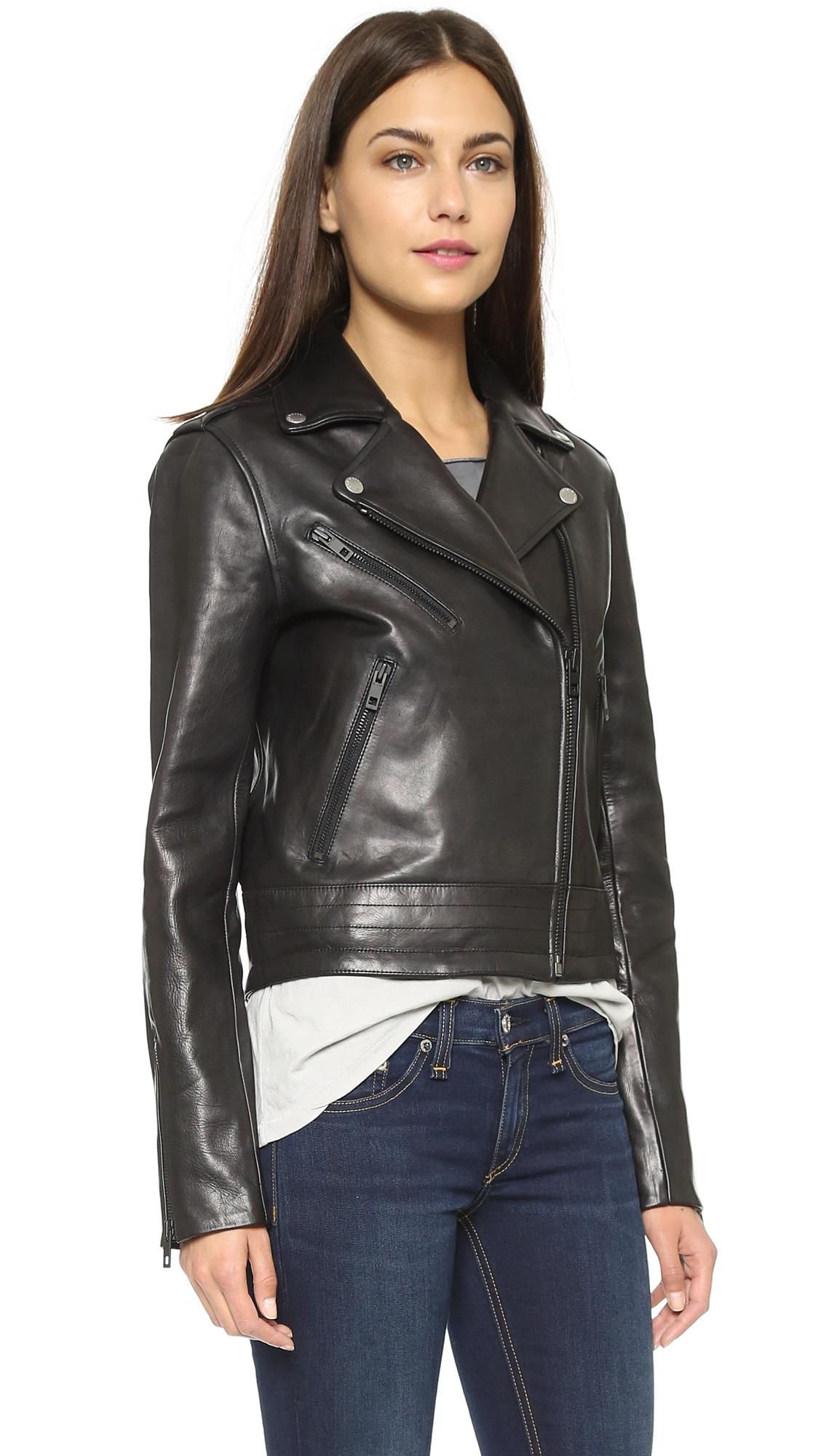 76e9d42fc Rag & Bone/JEAN Chrystie Leather Jacket | SHOPBOP