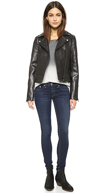 Rag & Bone/JEAN Chrystie Leather Jacket