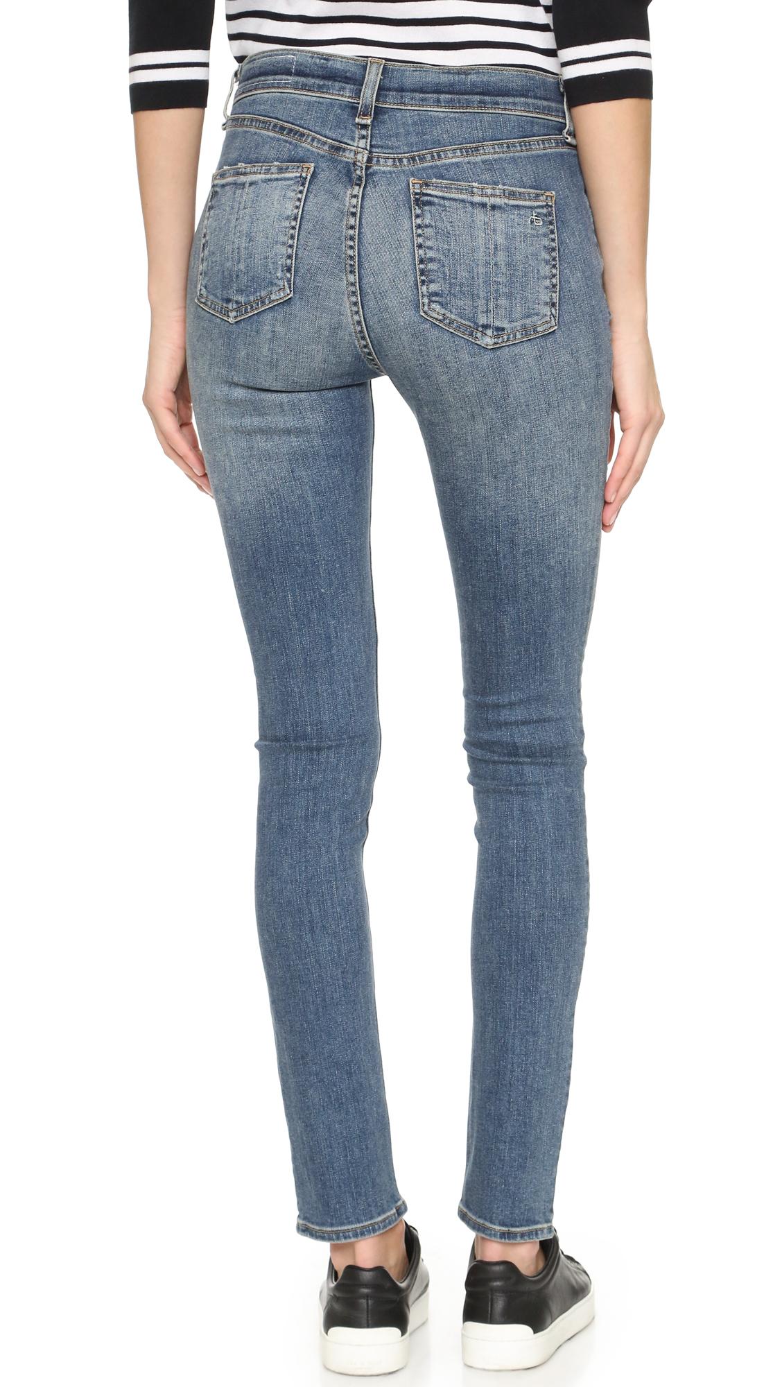 563518b340b9 Rag   Bone JEAN The High Rise Skinny Jeans