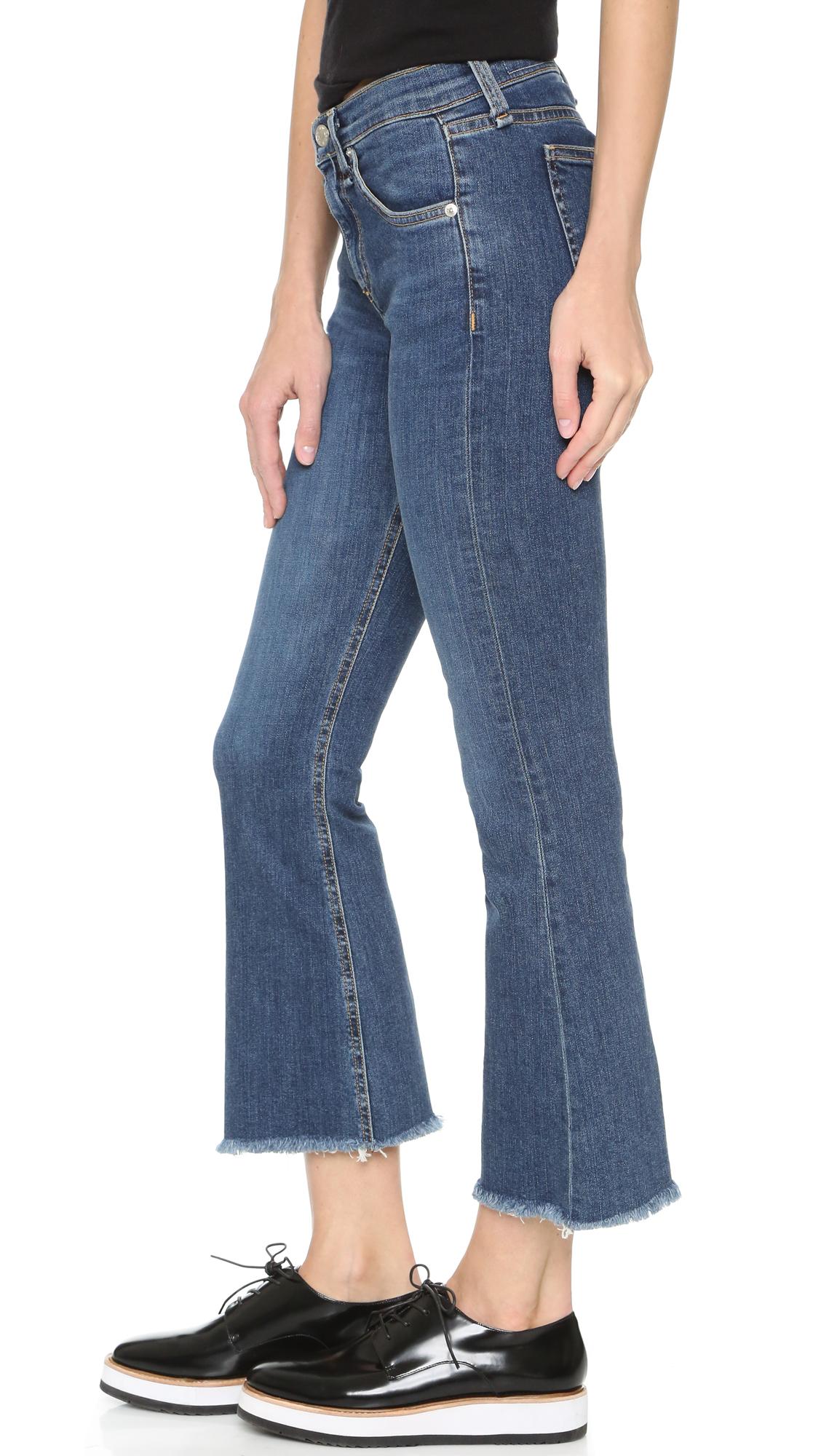 Rag   Bone JEAN Crop Flare Jeans   SHOPBOP 9e2dd662db