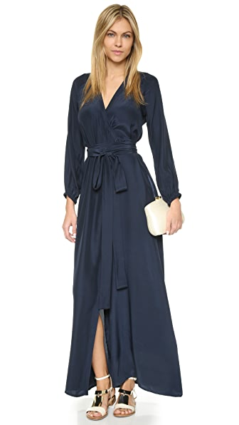 Rhode Resort Jagger Wrap Dress - Navy