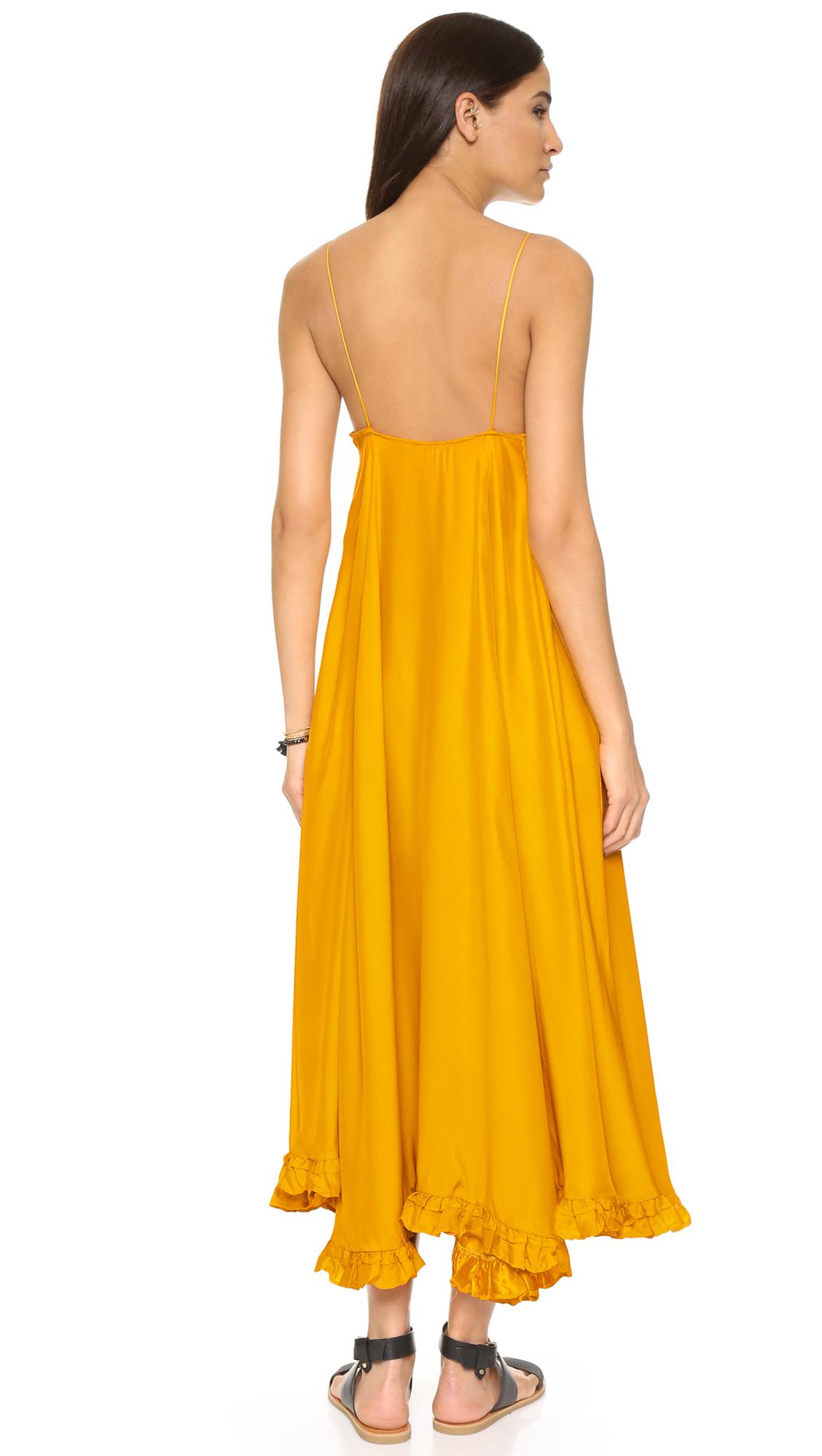 Rhode Resort Mara Silk Maxi Dress | SHOPBOP