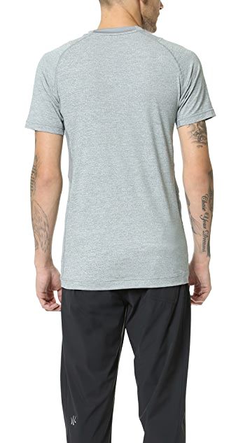Rhone General Heathered Active Tee