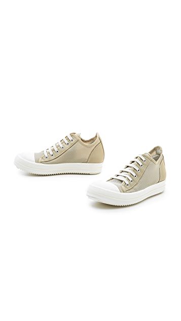 Rick Owens DRKSHDW Low Ramones Sneakers