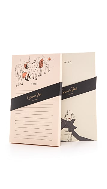 Rifle Paper Co Garance Dore Collection Front Row / On The Go Notepads
