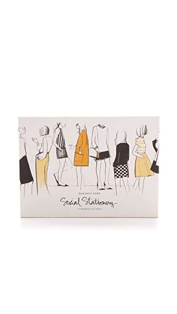 Rifle Paper Co Garance Dore Collection Friends Social Stationery