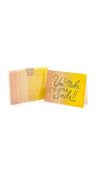 Rifle Paper Co You Make Me Smile Boxed Card Set
