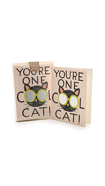 Rifle Paper Co Cool Cat Boxed Card Set