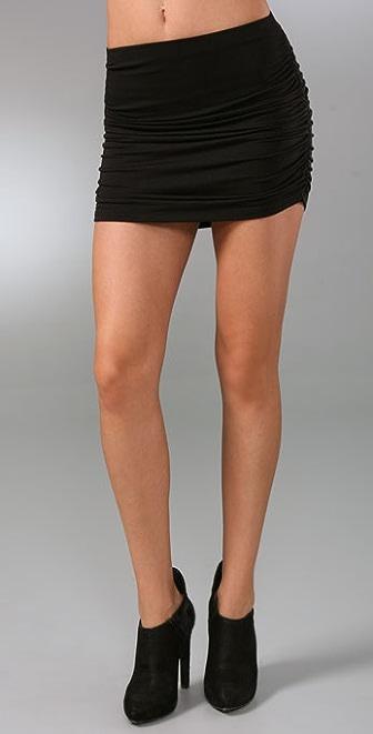 Riller & Fount Slater Ruched Miniskirt