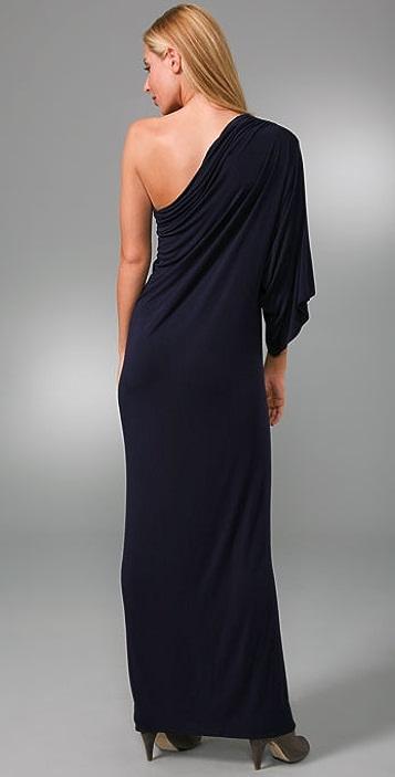 Riller & Fount Bella One Sleeve Long Dress