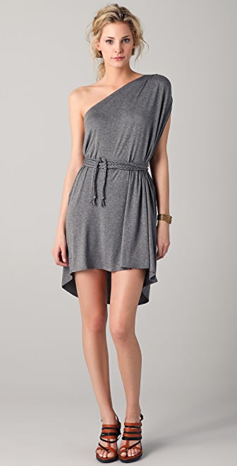 Riller & Fount Olympia One Shoulder Mini Dress