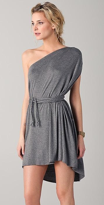 Riller & Fount Olympia One Shoulder Mini Dress