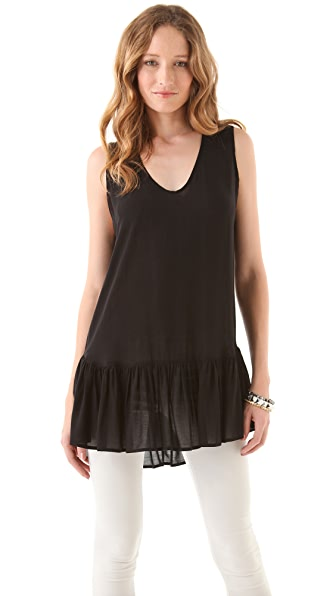 Riller & Fount Tawny Scoop Neck Tunic