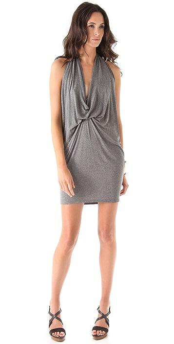 Riller & Fount Devi Halter Mini Dress