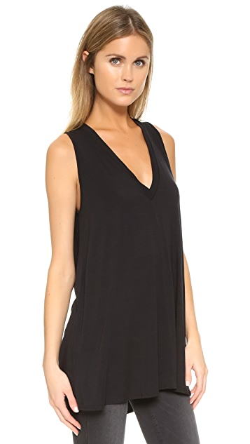 Riller & Fount Juno V Neck Tunic