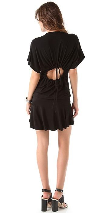 Riller & Fount Biscuit Cutout Back Dress