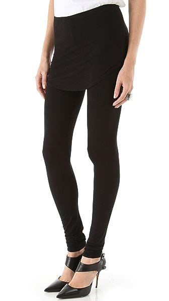 Riller & Fount Noho Leggings with Shirttail Skirt