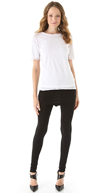 Riller & Fount Noho Leggings with Shirttail Skirt