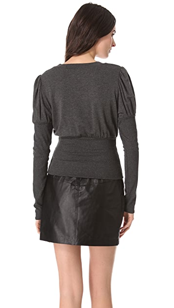 Riller & Fount Judy Puff Sleeve Top