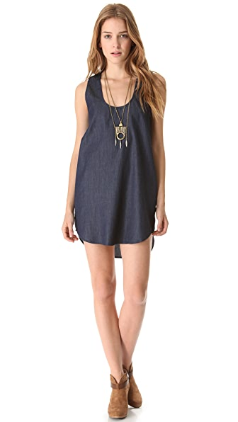 Riller & Fount Shirttail Tunic Dress