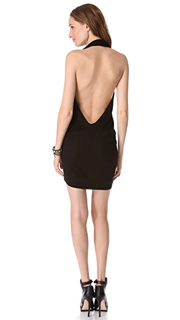 Riller & Fount Chilli Cocoon Mini Dress