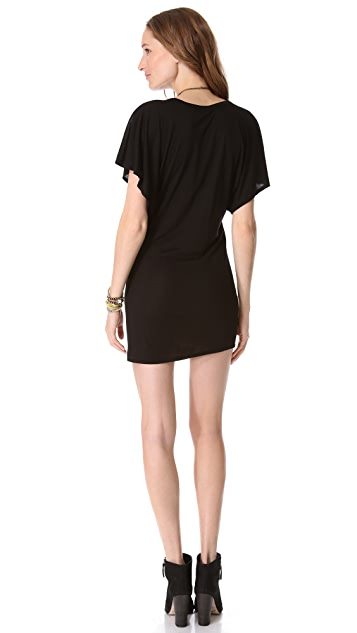 Riller & Fount Kelly Mini Dress with Kimono Sleeves