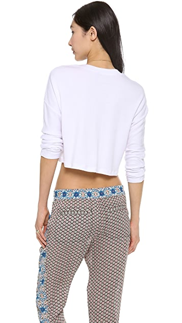 Riller & Fount Luke French Terry Crop Top