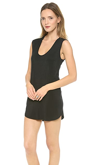 Riller & Fount Sammy Cap Sleeve Mini Dress