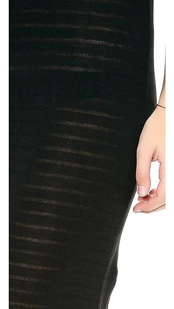 Riller & Fount Keith Side Slit Maxi Dress
